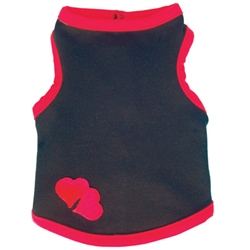 Lots of Love Black Tank by Ruff Ruff Couture®