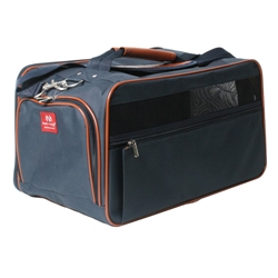 Navy/Saddle Classic Carrier