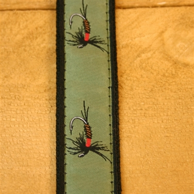 """Olive Fly Hemp Conservation Collection Collars and Leashes - 1"""" ONLY"""