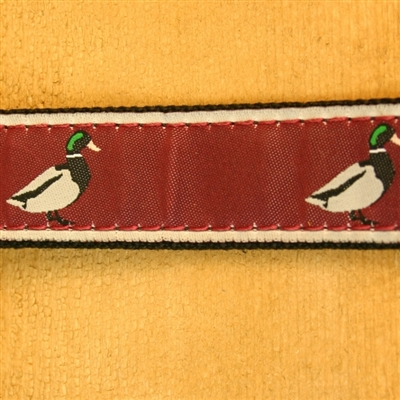 """Crimson Mallard Hemp Conservation Collection Collars and Leashes   1"""" ONLY"""