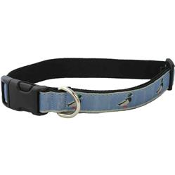 Hemp Collars, Leashes Slate Blue Mallard