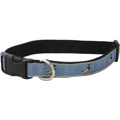 Hemp Collars, Leashes Slate Blue Mallard