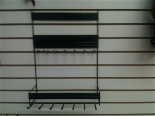 WIRE RACK FOR LEASHES AND COLLARS