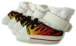 Flaming Sneakers