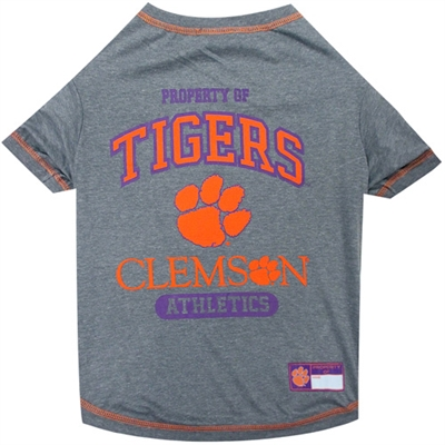 Clemson Tigers Tee Shirt - Gray
