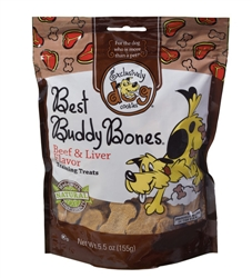 Best Buddy Bones - Beef & Liver  5.5 oz