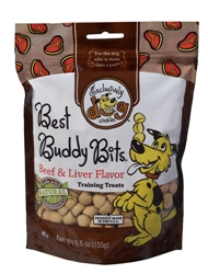 Best Buddy Bits - Beef Liver  5.5 oz