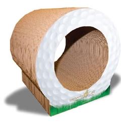 Scratch 'n Shapes Golf Ball Scratcher