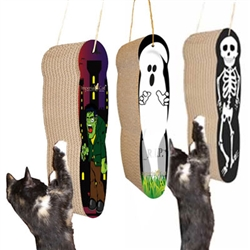 Scratch 'n Shapes Assorted Halloween Hanging Scratchers