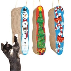 Scratch 'n Shapes Assorted Christmas Hanging Scratchers