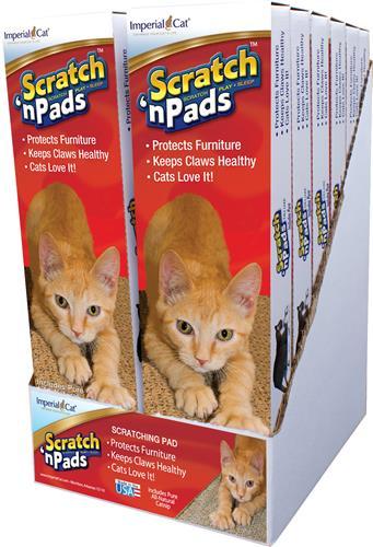 Deluxe Scratch 'n Pad 12 Pack Display Case