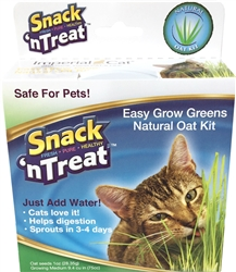 Snack 'n Treat Easy Grow Oat Grass Kit