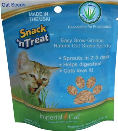 Snack 'n Treat Easy Grow Oat Seeds, 4 oz.