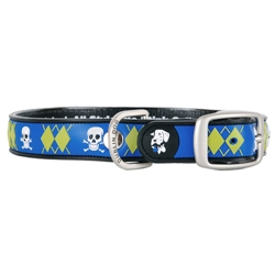 Mutiny Arrrgyle Collar (Blue)