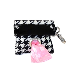 POOCH POUCH - Houndstooth Dispenser & Biodegradable Waste Pick-Up Bags