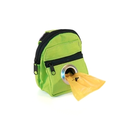 POOCH POUCH - GREEN Backpack Dispenser & Biodegradable Waste Pick-Up Bags