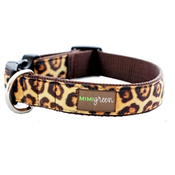 'Susie' Leopard Velvet Collars & Leashes