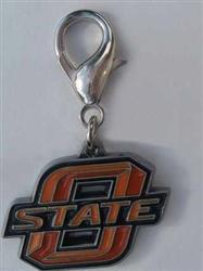 Oklahoma State Cowboys Dog Collar Charm