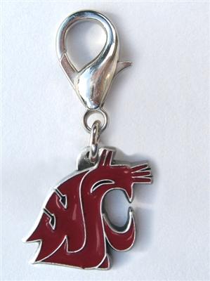 Washington State Cougars Dog Collar Charm