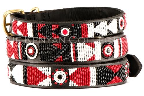 The Maasai Shield Collar & Leash Collection