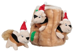 Hide-A-Squirrel Puzzle Plush™ - Holiday Seasonal (no box)