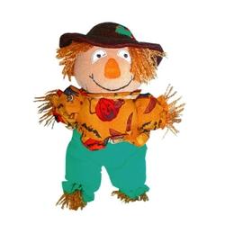 "Halloween ""Cuddle Me"" Scarecrow 10"""