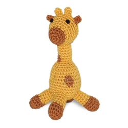 PAWer Squeaky Toy - Giraffe