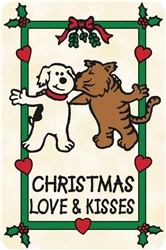 """Christmas Love & Kisses"""" Crunch Card"