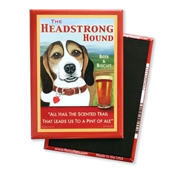 Headstrong Beagle MAGNETS