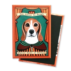 Beagle Saint MAGNETS