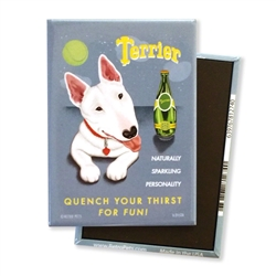 """Terrier"" Perrier Spoof MAGNETS"