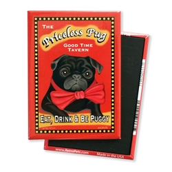 Pug - Priceless Pug MAGNETS