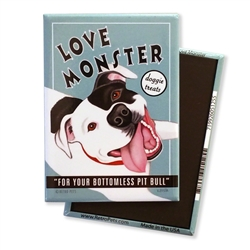Pit Bull - Love Monster MAGNETS