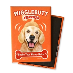 Wigglebutt Golden MAGNETS