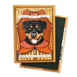 Rottweiler Saint MAGNETS