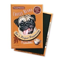 Pug - Puggaccino MAGNETS