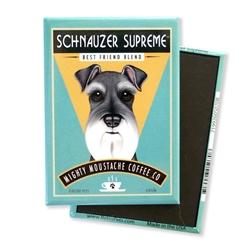 Schnauzer Supreme MAGNETS