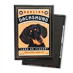 Dachshund - Darling Dachshund MAGNETS