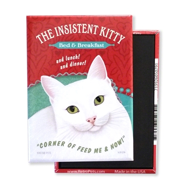 Cat - Insistent Kitty MAGNETS