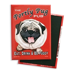 The Portly Pug MAGNETS
