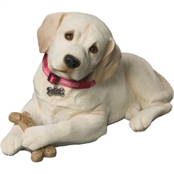 Sandicast Life Size Yellow Labrador Retriever Pup