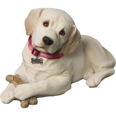 Sandicast Life Size Yellow Labrador Retriever Pup