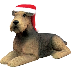 Sandicast Airedale Terrier Christmas Tree Ornament