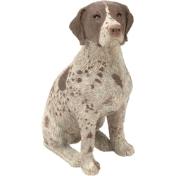 Sandicast Mid Size German Shorthaired Pointer
