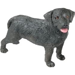 Sandicast Mid Size Black Labrador Retriever