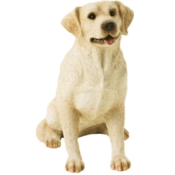 Sandicast Mid Size Yellow Labrador Retriever