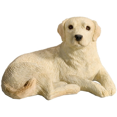 Sandicast Mid Size Yellow Labrador Retriever