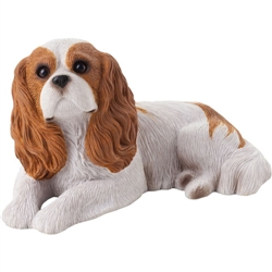 Sandicast Mid Size Ruby Cavalier King Charles Spaniel