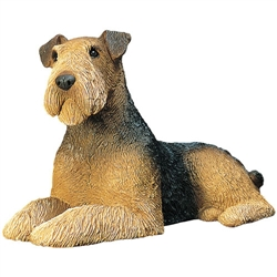 Sandicast Mid Size Airedale Terrier