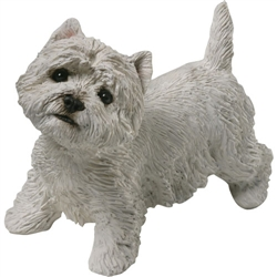 Sandicast Mid Size West Highland White Terrier